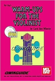 Mel Bay Warm Ups for the Violinist book/ CD set (Qwikguide) (Qwikguide)